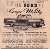 Publicité de 1946