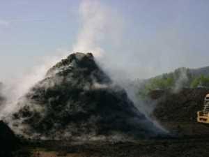 Chaleur produite par un compost