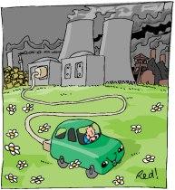 Avoir une voiture électrique et la recharger au Nucléaire !!??