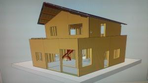 Une toute petite maison de plus de 130m² ... minuscule !